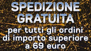 Spedizione gratuita per ordini di importo superiore a 50 euro.