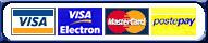X-Pay - CartaSi - Visa - Visa Electron - MasterCard - PostePay