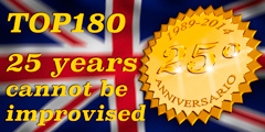 TOP 180 celebrates 25 years of business