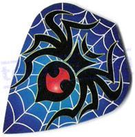 SET 3 ALETTE METRONIC BLUE SPIDER KITE - Top180