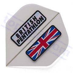 SET 3 FLIGHTS BRITISH PENTATHLON CLEAR - Pentathlon