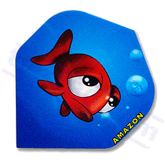 SET 3 AMAZON FLIGHTS CARTOON GOLDFISH - Amazon