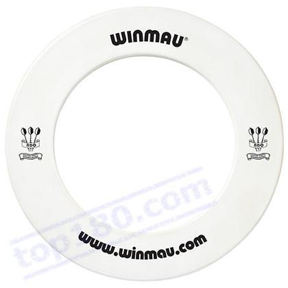WINMAU WHITE DARTBOARD SURROUND FOR STEEL DART - Winmau