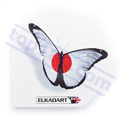 SET 3 ALETTE 100 MICRON WHITE BUTTERFLY - Elkadart