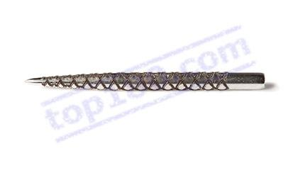 SET 3 PUNTE RICAMBIO STEEL DIAMOND 32MM - Target