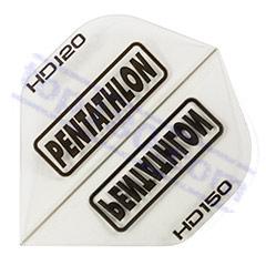 SET 3 ALETTE PENTATHLON HD-150 STANDARD COLOR TRASPARENTE - Pentathlon