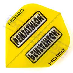 SET 3 ALETTE PENTATHLON HD-150 STANDARD COLOR GIALLO - Pentathlon