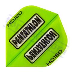 SET 3 ALETTE PENTATHLON HD-150 STANDARD COLOR VERDE - Pentathlon