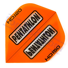 SET 3 ALETTE PENTATHLON HD-150 STANDARD COLOR ARANCIO - Pentathlon