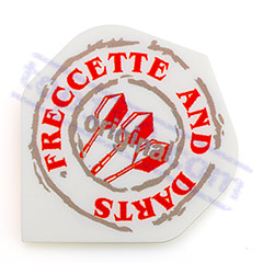 SET 3 ALETTE FRECCETTE AND DARTS BIANCHE - Pentathlon