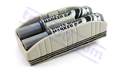 MAXIFLO ERASER WITH MARKERS - Bull's