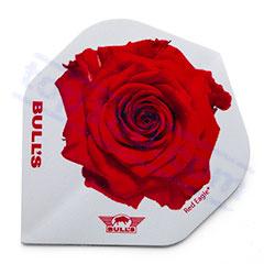 SET 3 ALETTE BULL'S RED ROSE - Bull's