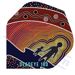 SET 3 ALETTE PEOPLE 100 MICRON - Deadeye Darts