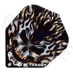 SET 3 ALETTE VISION BLACK FLAMING - Target