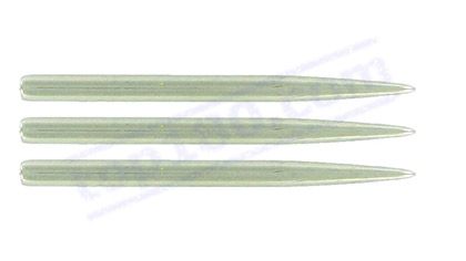 SET 3 PUNTE ALLUMINIO CHROME DART POINT BAGGED 32MM - Target