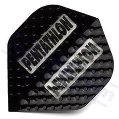 SET 3 ALETTE PENTATHLON EMBOSSED BLACK - Pentathlon