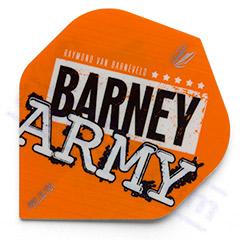 SET 3 ALETTE TARGET PRO ULTRA BARNEY ARMY ORANGE - Target