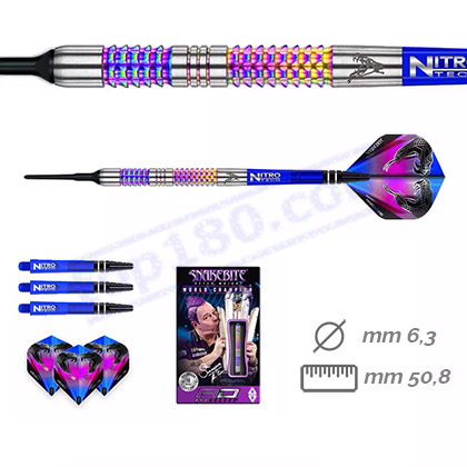 SET 3 FRECCETTE SOFT PETER WRIGHT RAINBOW MAMBA 18G. - RedDragon