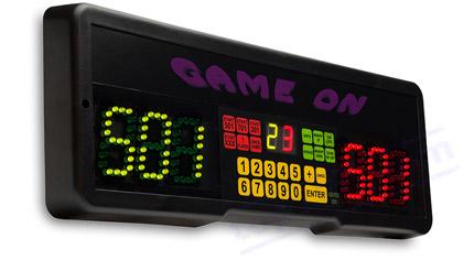 ELECTRONIC DARTS SCORER GAME ON - Top180