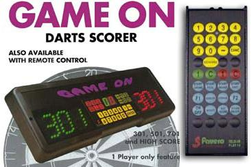 ELECTRONIC DARTS SCORER GAME ON WITH INFRARED - Top180