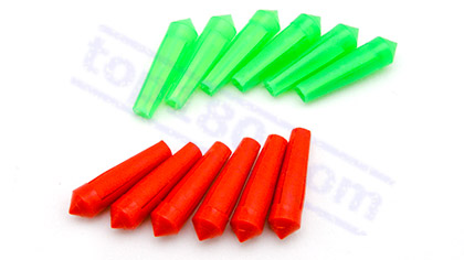 SET 6 PLASTIC FLIGHT PROTECTORS - Top180