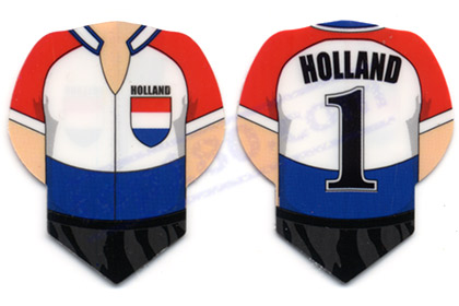 SET 3 ALETTE CALCIO HOLLAND - Top180