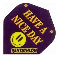 SET 3 ALETTE PENTATHLON HAVE A NICE DAY - Pentathlon