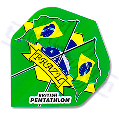 "SET 3 FLIGHTS PENTATHLON ""BRAZIL"" - Pentathlon"