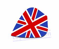 "SET 3 POLYESTER FLIGHTS KITE ""UNION JACK"" - Top180"